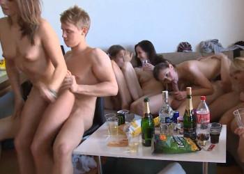 Imagen La fiesta se les fue de las manos y acabó en orgía