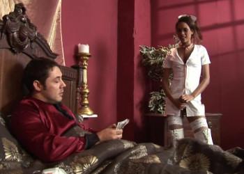 Imagen La mejor cura se la da su enfermera mulata con un polvazo