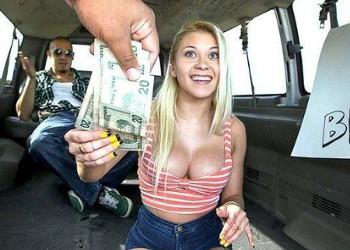 Imagen Marsha May acepta dinero a cambio de follar en el coche